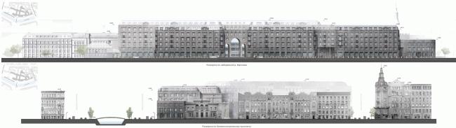 Жилой комплекс на Карповке «Северная корона» © «А.Лен» & «Архитектурная мастерская Ясса»