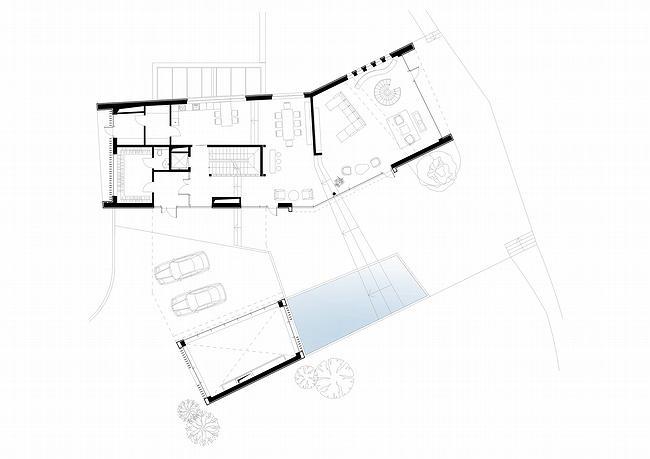 Индивидуальный жилой дом, Антоновка. План первого этажа © PANACOM
