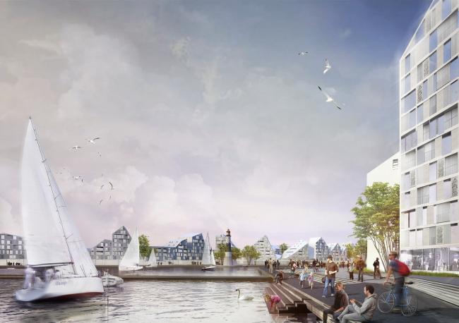 Жилой комплекс «Морская резиденция» © «А.Лен»