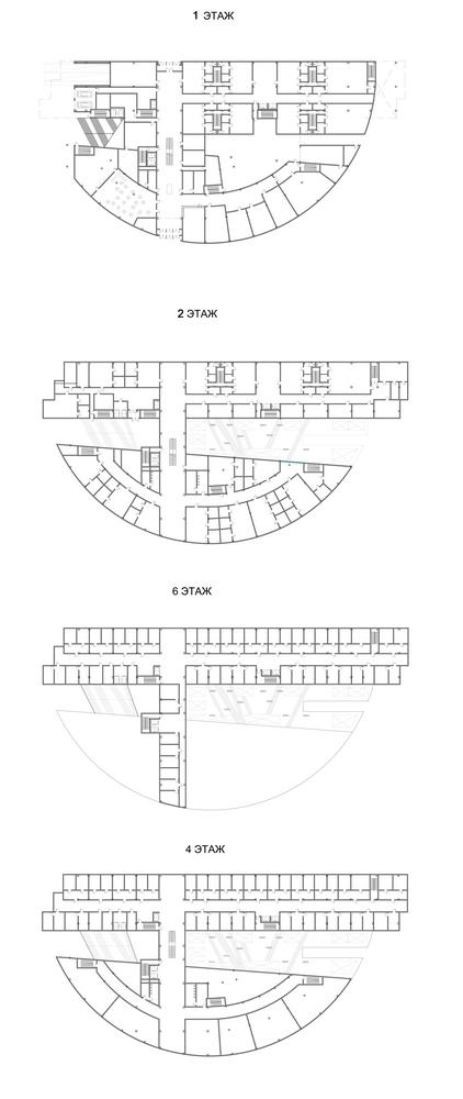Планы. Здание Нижегородского областного суда © «А.Лен»