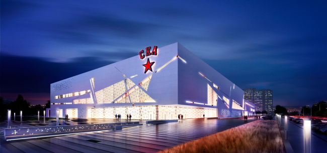 "Project of the sport complex SKA. Project, 2012 © ""A.Len"" Architectural Bureau"