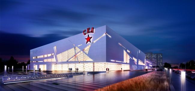 "Project of the sport complex SKA. Project, 2012 © ""A.Len"" Architectural Bureau"
