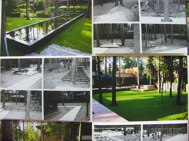 «Сад в современном стиле» ландшафтной компании «Новый свет»