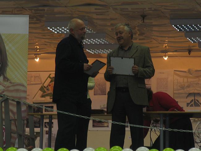 Награждение Николая Полисского
