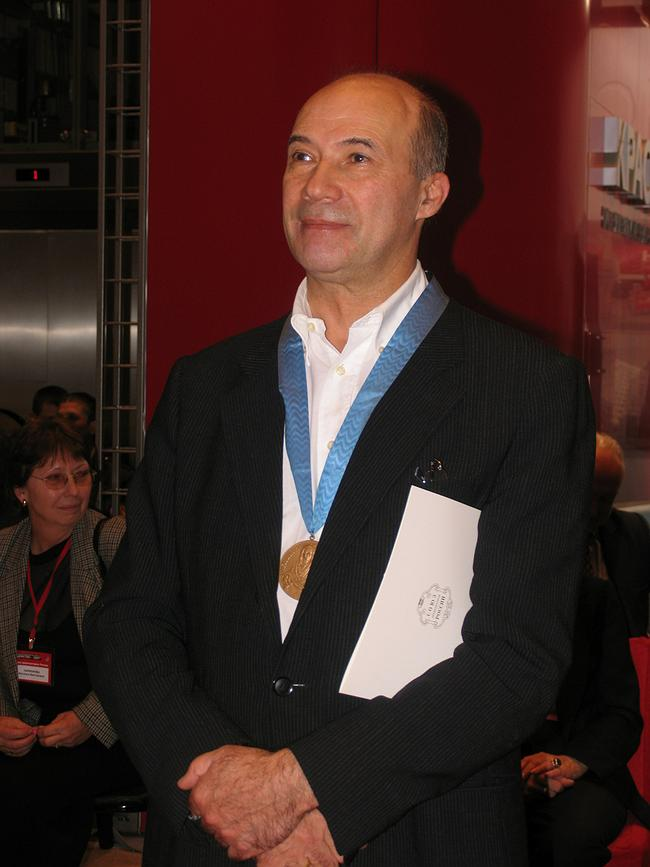 Андрей Боков - лауреат медали САР. Фотография Ирины Фильченковой