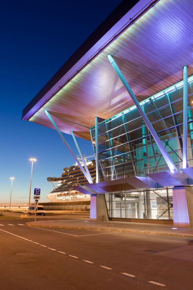 """Sea passenger terminal. Terminal #1 (cruise) © """"A.Len"""""""