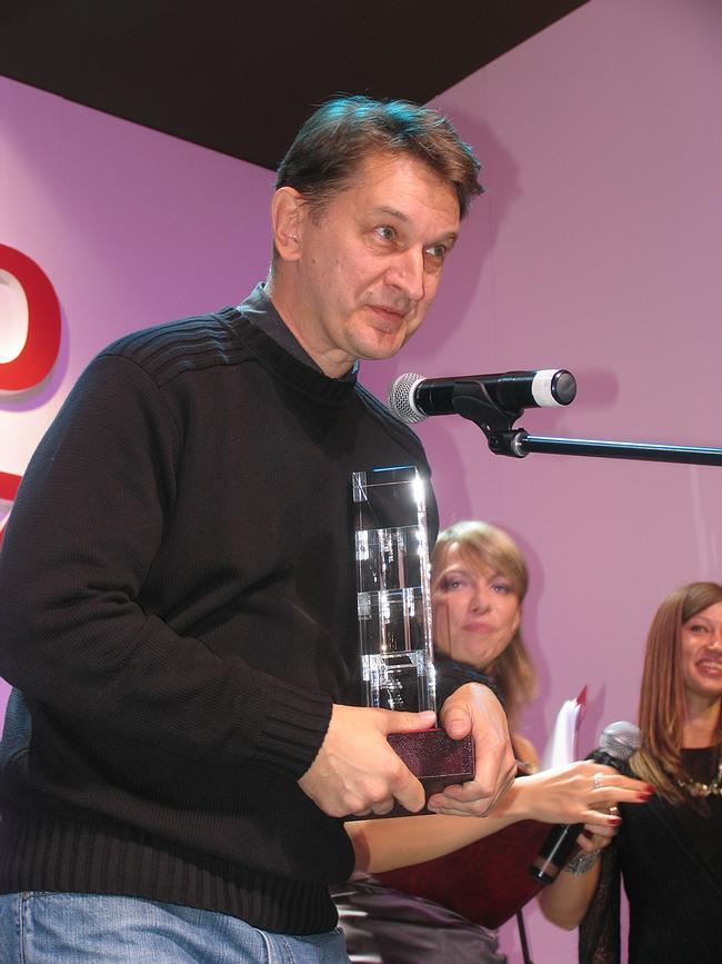 АБ В. Пастушенко и В. Самогорова. Хрустальный Дедал 2007. Фотография Ирины Фильченковой