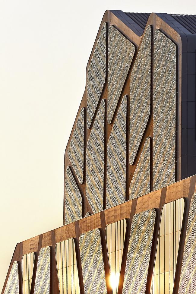 Дворец правосудия города Хасселт © Hufton + Crow