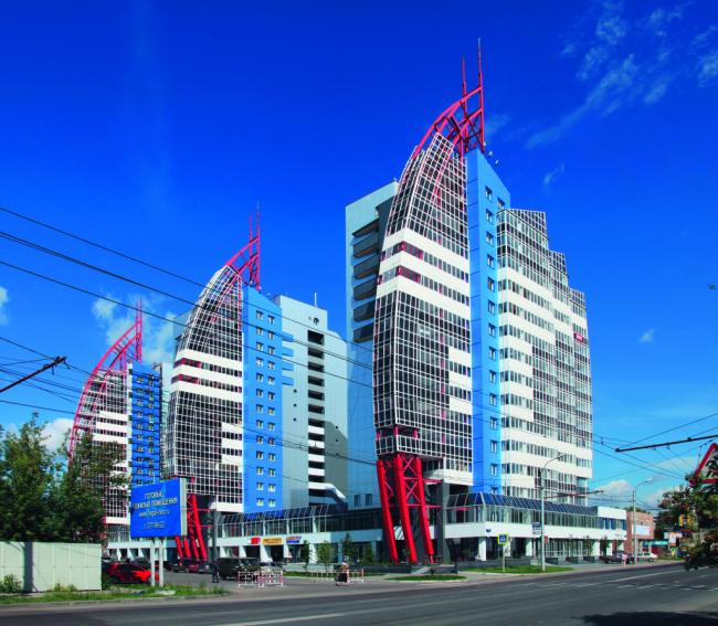 Жилой комплекс «Фрегат [NEO]» © Проектное бюро архитектора Бальцера