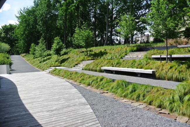 Посетительский центр Бруклинского ботанического сада © Aaron Booher