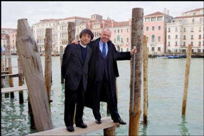 Тадао Андо и Франсуа Пино в Венеции