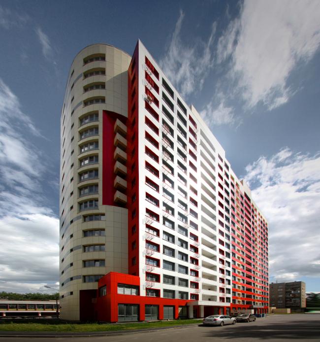 Жилой комплекс в г.Дзержинском © Архитектурное бюро Асадова