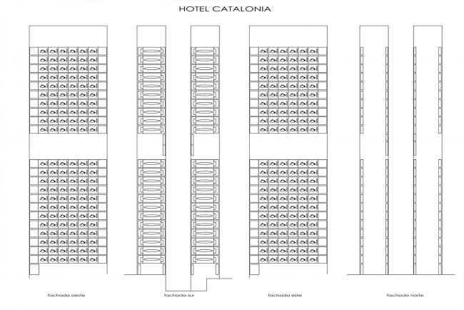 Гостиница Renaissance Barcelona Fira Hotel © Ateliers Jean Nouvel, Ribas & Ribas