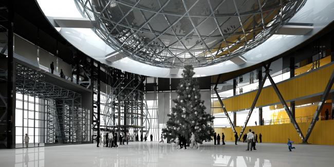 Театрально-концертный комплекс «Сургут-холл». Архитектурное бюро «Четвертое измерение»