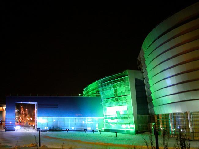 Многофункциональный театрально-концертный комплекс «Югра-классик». Архитектурное бюро «Четвертое измерение»