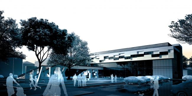 Торгово-досуговый центр «Парк 13». Архитектурное бюро «Четвертое измерение»