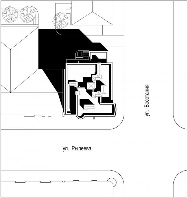 Элитный клубный дом «Эгоист» © Архитектурное бюро «А.Лен»