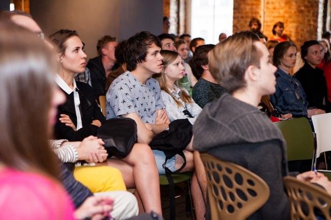 Презентация магистерской программы института урбанистики «Среда». Фотография © институт «Среда»