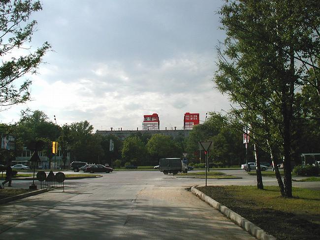 Врисовка - вид на здание со стороны Ленинского проспекта