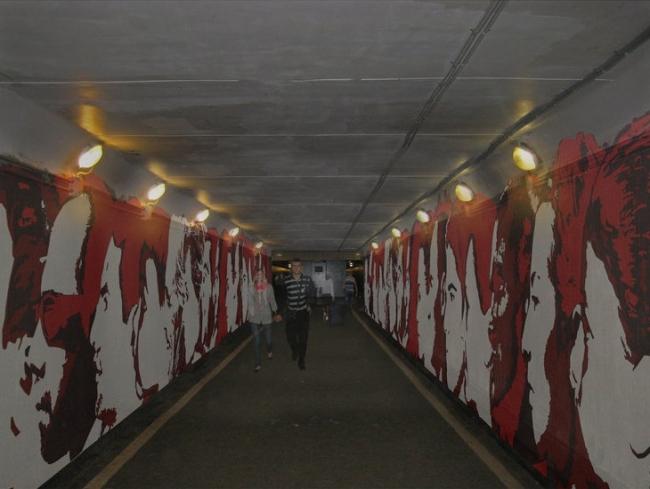 Реконструкция туннеля-перехода под Курским вокзалом в Москве © TOPOTEK1