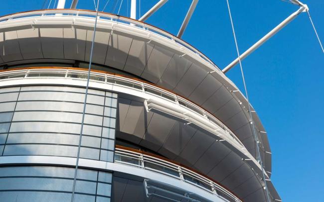 Яхт-клуб Монако. Фото © Nigel Young / Foster + Partners