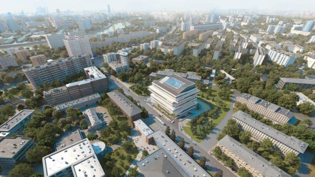 Бизнес-центр Dominion Tower © Zaha Hadid Architects