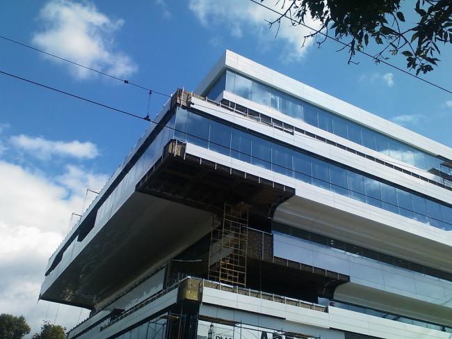 Бизнес-центр Dominion Tower. Фото © Нина Фролова