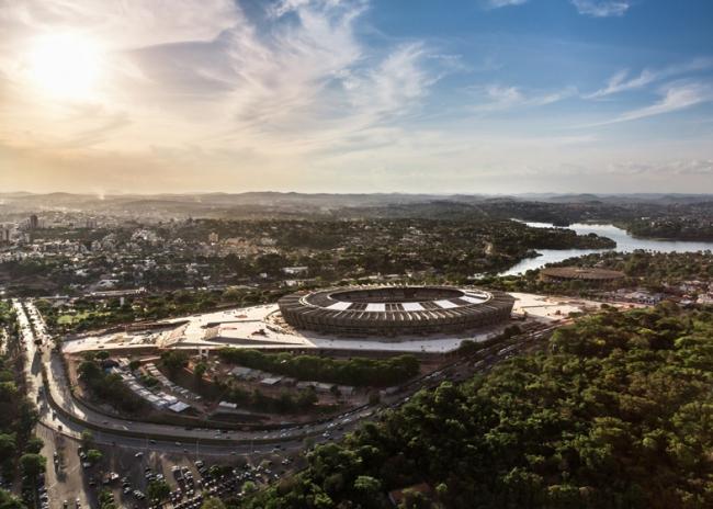 Стадион Mineirão © Alberto Andrich