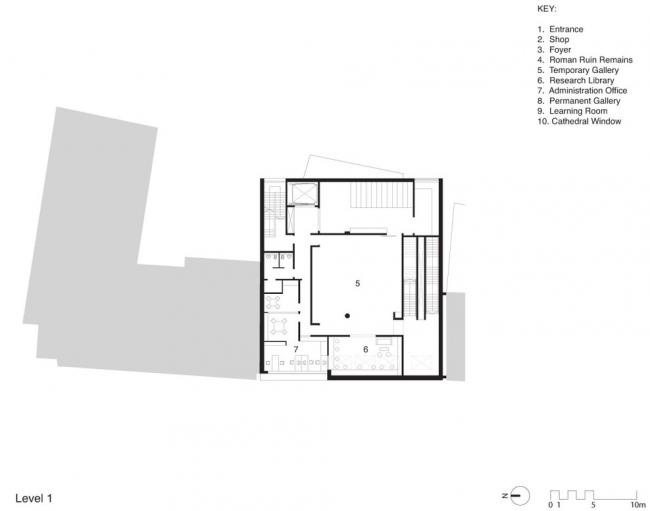 Novium – окружной музей Чичестера © Keith Williams Architects