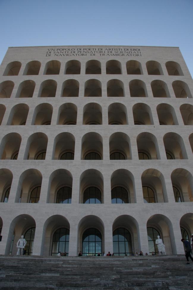 «Квадратный Колизей» в римском районе ЭУР. Фото © Анна Вяземцева