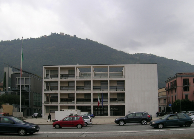 Casa del Fascio Джузеппе Терраньи в Комо. Фото © Анна Вяземцева