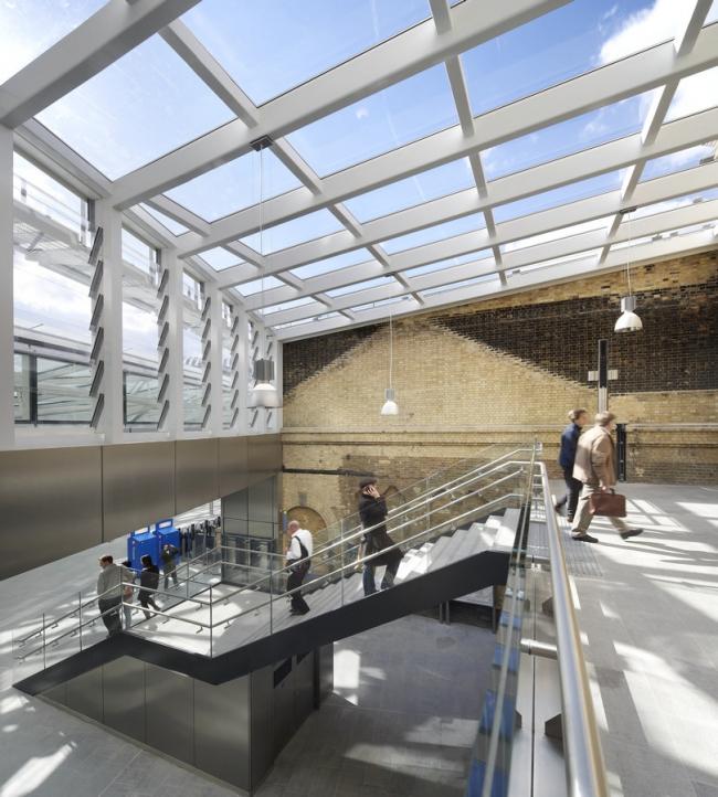 Вокзал Кингс-Кросс – реконструкция © Hufton + Crow