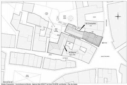 Музей Шампольона и письменности мира. Ситуационный план