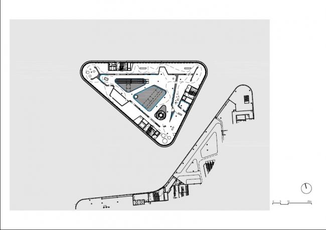 Здание Kulturbau © Benthem Crouwel Architects