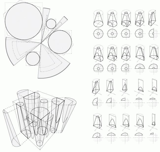 Схема «стереотомии» © TOTEMENT / PAPER