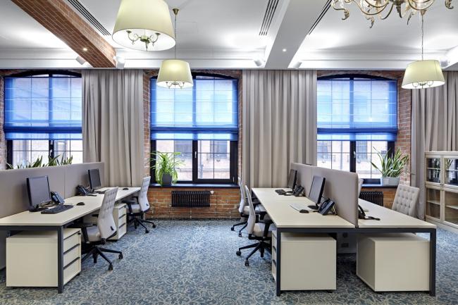 Офис компании «ПрофМедиа Менеджмент/Централ Партнершип». Архитектурное бюро UNK project