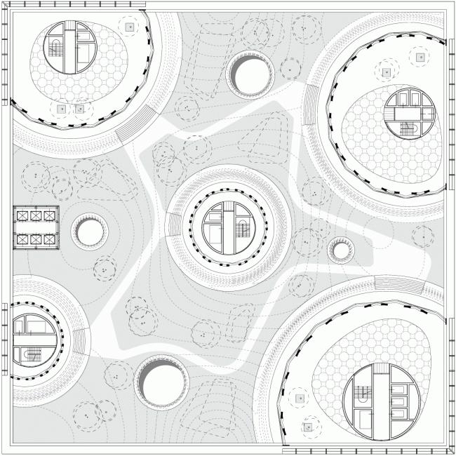 Plan: courtyard © TOTEMENT / PAPER