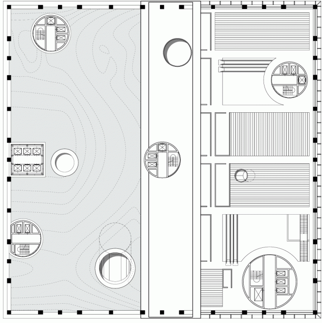 Plan: the level of bio farms © TOTEMENT / PAPER