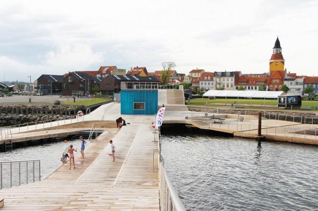 Купальня в гавани Фоборга © Urban Agency