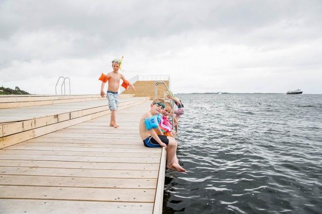 Купальня в гавани Фоборга © Mette Krull