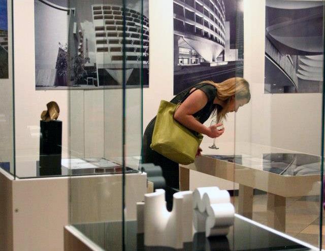 Выставка «Гарри Сайдлер: архитектура, искусство и творческое сотрудничество» в Риге. Февраль-март 2013. Фото предоставлено Владимиром Белоголовским