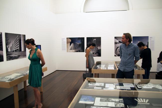 Выставка «Гарри Сайдлер: архитектура, искусство и творческое сотрудничество» в Сан-Паулу. Февраль-апрель 2014. Фото предоставлено Владимиром Белоголовским