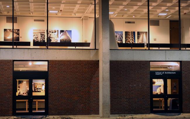 Выставка «Гарри Сайдлер: архитектура, искусство и творческое сотрудничество» в Университете Виргинии. Ноябрь-декабрь 2013. Фото предоставлено Владимиром Белоголовским