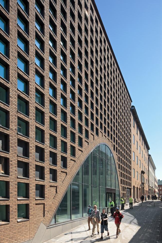 Anttinen Oiva Architects. Библиотека «Кайса» Хельсинкского университета © Tuomas Uusheimo