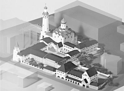 Проект православного комплекса в Ульяновске. Изображение: ulpressa.ru