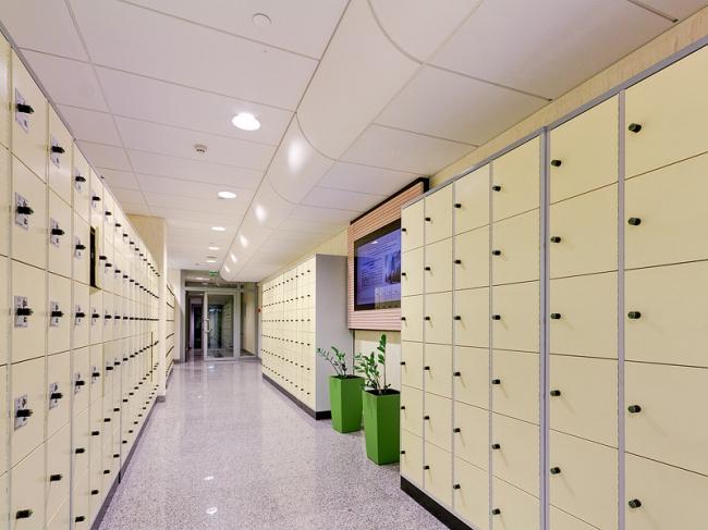 Тюменская областная научная библиотека им. Д.И.Менделеева. Фото предоставлено компанией «Экофон»