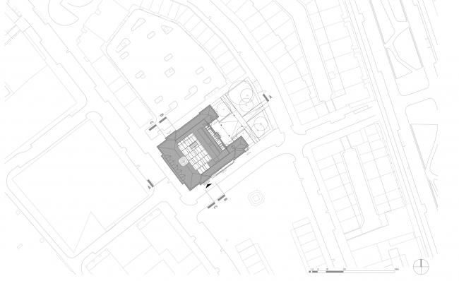Генеральный план. Erasmus University College. © (designed by) Erick van Egeraat
