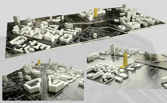 ABD architects. Фотографии макета