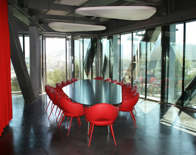 Штаб-квартира GL Events © Studio Odile Decq