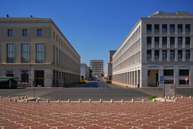 Район EUR (Esposizione Universale di Roma) в Риме. Фото © Анатолий Белов